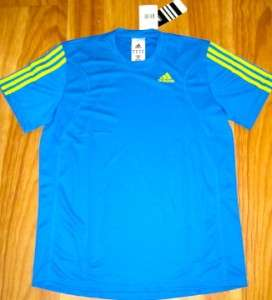 NEW ADIDAS QR EVENT SHORT SLEEVE S/S TEE T SHIRT SMALL SM S CLIMACOOL