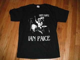 DEEP PURPLE  IAN PAICE DRUM KING T shirt