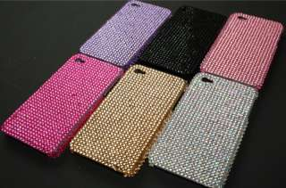 iPhone 4 Strass BLING GLITZER case Cover hülle LUXUS