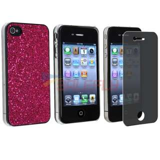 Case Cover+Privacy Pro Guard For iPhone 4 s 4s 4th Gen 16G 32G