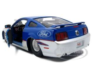 2006 FORD MUSTANG GT PRO STREET BLUE 1:24 CUSTOM