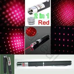 2in1 star cap red Laser Pointer Pen High Power 650nm wavelength 1mW