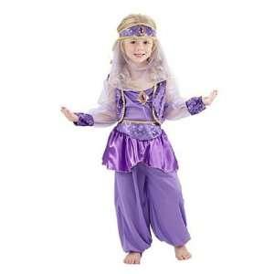 Harem Tänzerin Suleika Orient Mädchen Kinderkostüm 110/120: