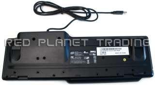 NEW Dell USB Smart Card Reader Keyboard RT7D60 UM976
