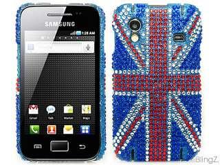 Union Jack Diamond Bling Case for Samsung Galaxy Ace S5830
