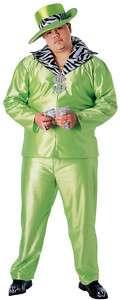 MENS PLUS SIZE GREEN BIG DADDY HALLOWEEN COSTUME
