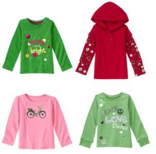 NWT Girls Gymboree Long Top Shirt *U Pick One* 6 7 8 9