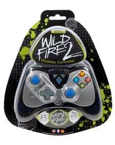 BLACK DATEL WILDFIRE II 2 WIRELESS CONTROLLER XBOX 360