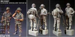 Bravo 6 1/35 U.S. Infantry Officer & RTO, Vietnam 68