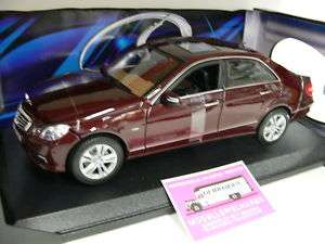 18 Maisto Mercedes Benz E Klasse dunkelrot metallic