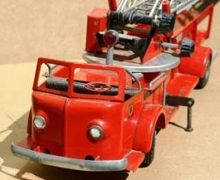 Vintage Model Toys Doepke Rossmoyne Metal Fire Truck