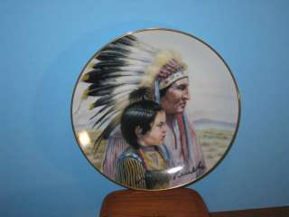 Gregory Perillo Collector Plate The Crow Nation