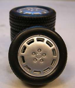 18 SCALE 1986 MUSTANG WHEEL & TIRE SET