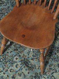 BEAUTIFUL HEYWOOD WAKEFIELD DINING ROOM SET TABLE AND CHAIRS WOW