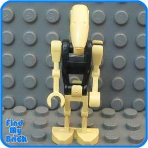 SW502 Lego Star Wars Battle Droid Minifigure Black 7662
