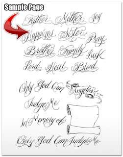 Cursive Schreibschrift Tattoo Vorlagen On Popscreen