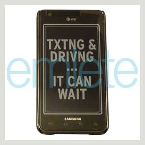 Metal Back Cover Case For AT&T Samsung Galaxy S II 2 i777 i9100