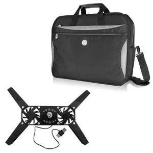 Arctic Water Resistant Laptop Bag + USB Foldable Laptop Cooling/Cooler