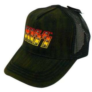 KISS ROCK & ROLL SNAPBACK TRUCKER MESH VINTAGE HAT CAP