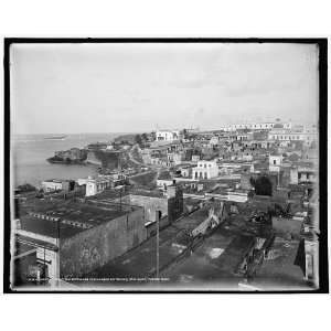 Casa Blanca,the barracks,harbor entrance,San Juan,Puerto
