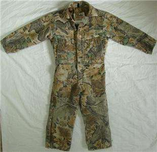 BOYS GIRLS YOUTH WALLS BLIZZARD PRUF HUNTING CAMOUFLAGE COVERALL 8