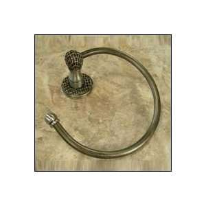 Chamberlain Towel Ring (Anne at Home 1503 Cabinet Pewter 6