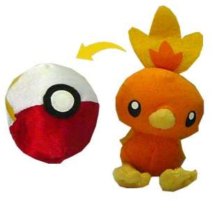 Pokemon Torchic Reversible 3 Toy Plush Doll Nintendo