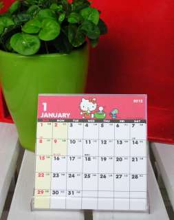 Hello Kitty Mini Calendario Scrivania 2012 9.8 x 10 cm Sanrio H6025