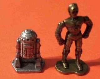 1982 RARE VINTAGE ORIGINAL STAR WARS R2D2 C 3PO FIGURES