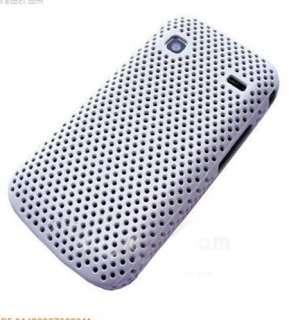 Custodia GRID per Samsung Galaxy Gio S5660 back cover BIANCA