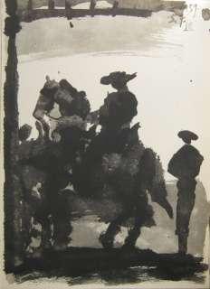 Pablo Picasso Toros y Toreros 5.7.59 VIII en vente sur .fr (fin le