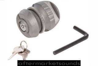 Trailer Hitch Lock 50mm Towball Ball Coupling Tow Bar Security Anti