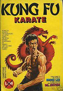 ALBUM KUNG FU KARATE BRUCE LEE   IMPERIA [AN167]