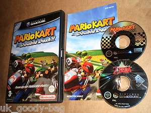 Mario Kart Double Dash + Zelda Collectors Gamecube Wii