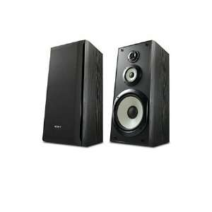 Sony SS B3000 Bookshelf Speakers (Pair, Black