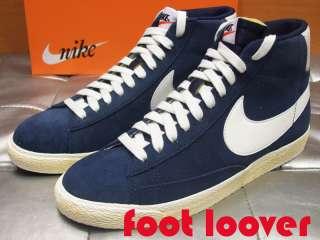Scarpe Nike Blazer High Premium Retro 487653 400 vintage basket uomo