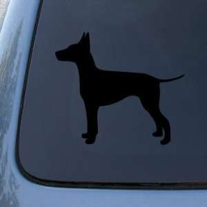 MANCHESTER SILHOUETTE   Dog   Vinyl Decal Sticker #1537  Vinyl Color