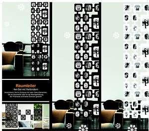 Fotovorhang XXL Set WEISS Foto Collage Raumteiler Bilder Rahmen