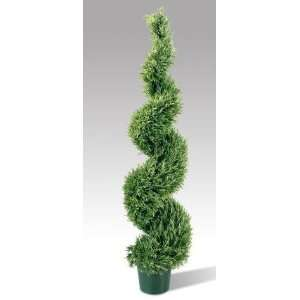 National Tree Company LRL 700 60 6 Foot Rosemary Leaf Spiral Tree