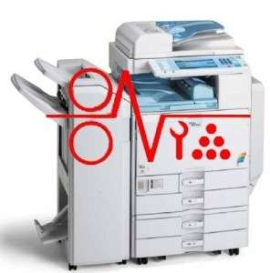 RICOH 2022 PHOTOCOPIER SERVICE MANUAL GUIDE ON CD.