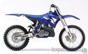 MANUAL TALLER YAMAHA YZ 250 F WORKSHOP MANUALE YZ250 FR