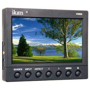 Ikan V5600 5.6 HD LCD Video Monitor, 1024 x 600 Resolution, 16:9 or 4