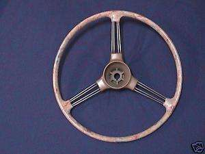 Morris Minor 1948 56, MG TD, TF Steering wheel, recond