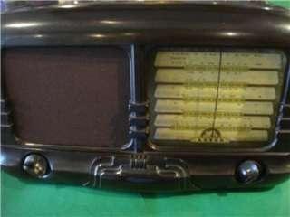 Antique Art Deco Bakelite Aust. ASTOR Large Valve Radio c.1940s Era