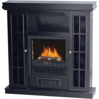 38 Electric Fireplace Heater FP 38 2D BL in Space Heaters  JR