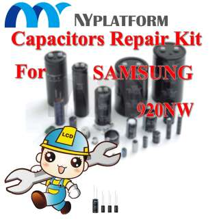 LCD CAPACITORS REPAIR KIT SAMSUNG 920NW