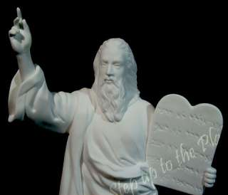 Lenox China Religious Figurine MOSES Stories of Bible Sculpture 1992
