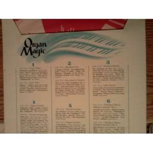 ORGAN MAGIC = 6 LP Box Set: Music