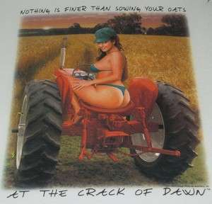 Outfitters Tshirt Crack Of Dawn Farm Field Tractor John Deere Redneck
