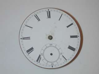 Rockford 18 Size Contract Pocket Watch Movement. 80J
